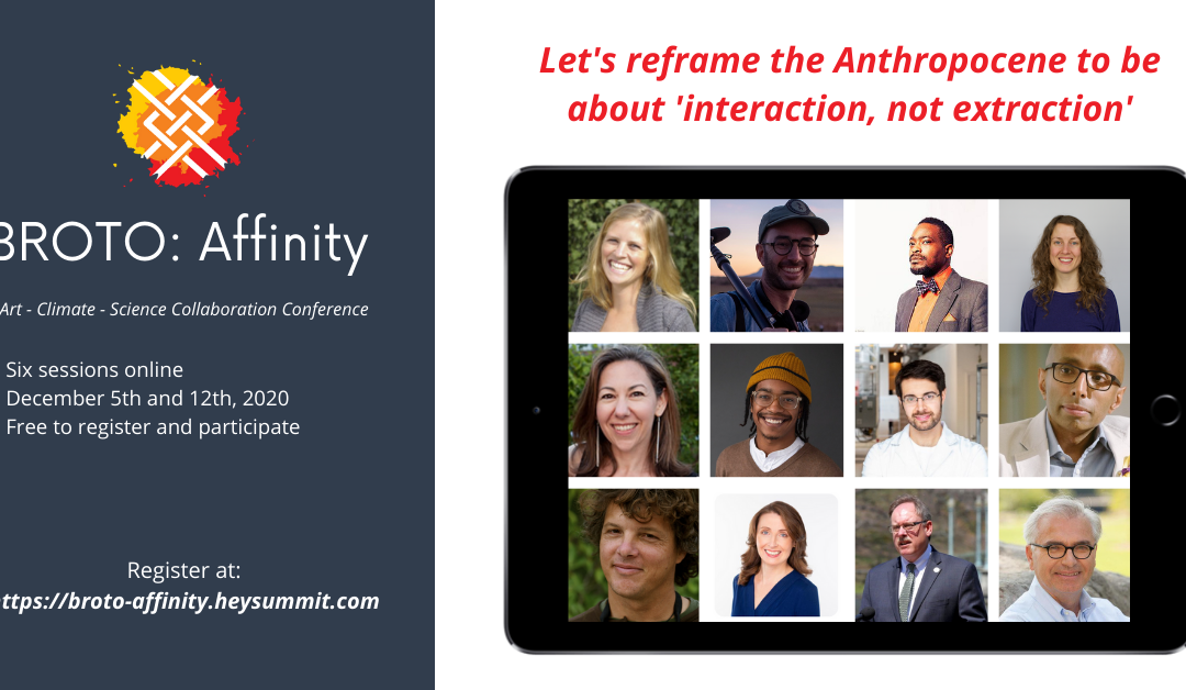 Broto's Affinity Conference happens Dec. 5 and 12, 2020